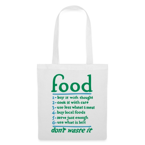 Food Tote Bag - Tote Bag