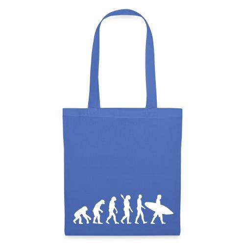 Evolution Surfer Tote Bag - Tote Bag