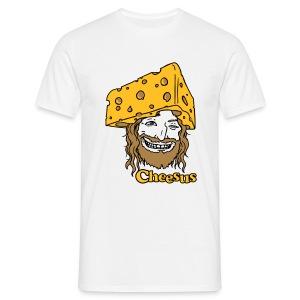 Cheesus - Männer T-Shirt