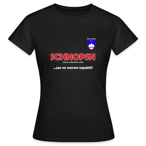 Team Slovenia Shirt - Frauen T-Shirt