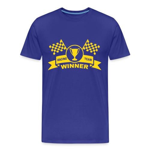 Winner racing team - Men's Premium T-Shirt