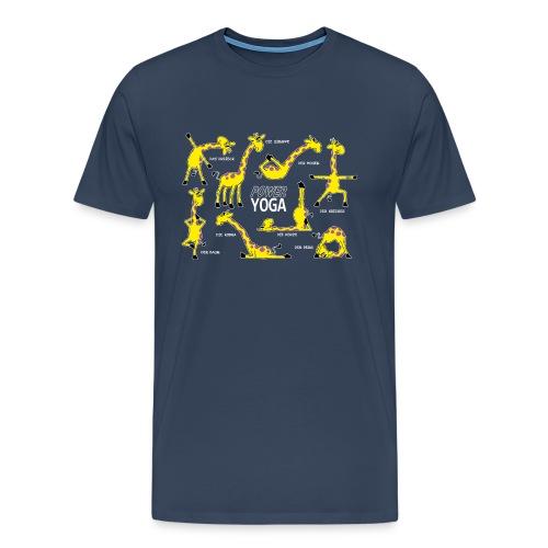 Yogiraffe - Männer Premium T-Shirt