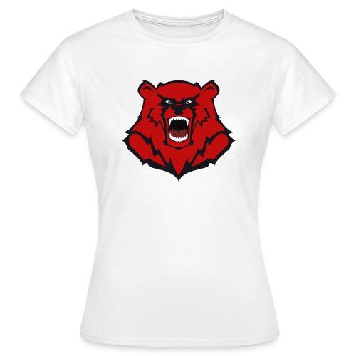 HARD KNOCKS Frauen T-Shirt Motiv Bär - Frauen T-Shirt