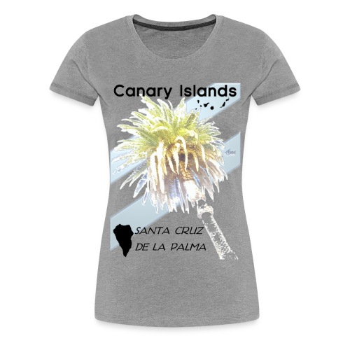 La Palma Shirt G - Frauen Premium T-Shirt