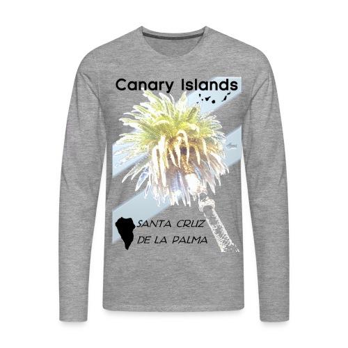 La Palma Shirt Lang - Männer Premium Langarmshirt