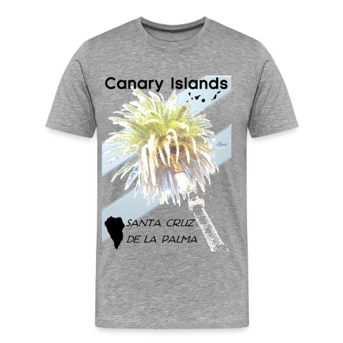 La Palma Shirt  - Männer Premium T-Shirt