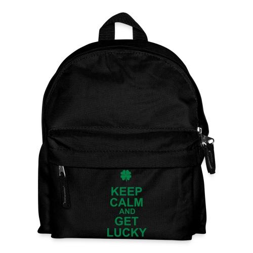 Keep Calm and Get Lucky - Sac à dos Enfant