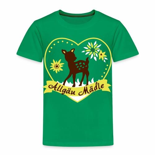 Allgäu Mädle - Kinder Premium T-Shirt