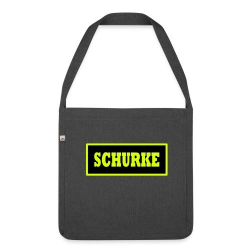 Tasche Schurke - Schultertasche aus Recycling-Material