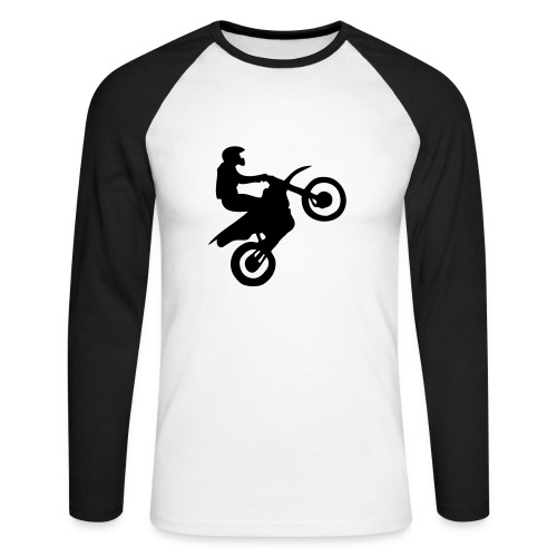 Shirt - Männer Baseballshirt langarm