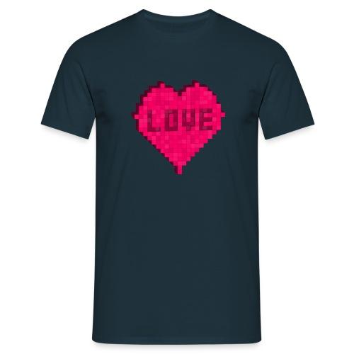 Valentinstag Love Herz Heart - Männer T-Shirt