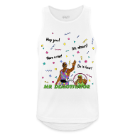 Sports wear ~ Men's Breathable Tank Top ~ Mr. Demotivator (Breathable Tank Top)
