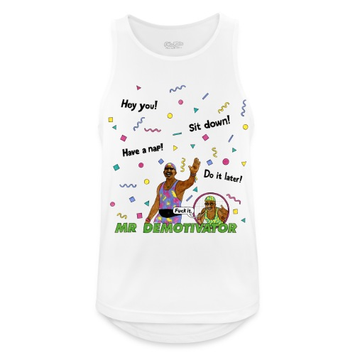 Mr. Demotivator (Breathable Tank Top) - Men's Breathable Tank Top