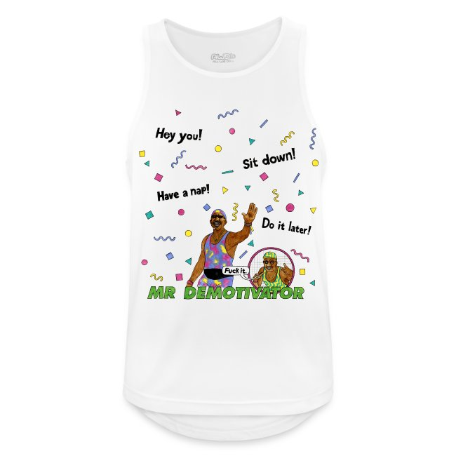 Mr. Demotivator (Breathable Tank Top)