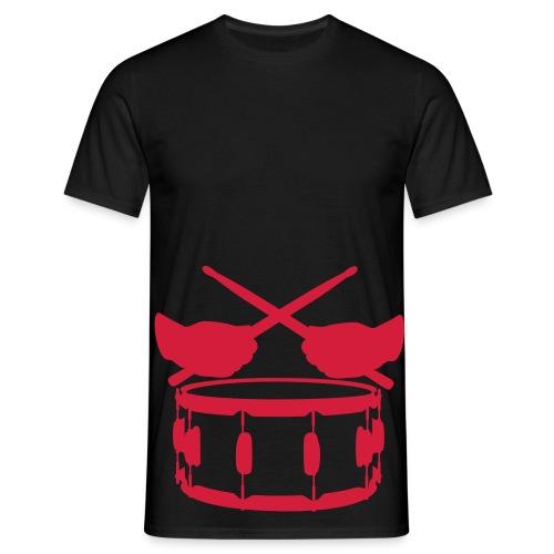 Drum master - snare - Men's T-Shirt