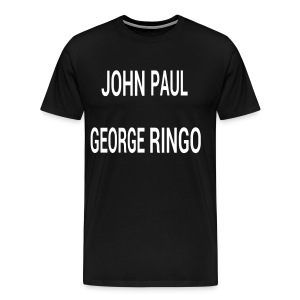 John, Paul, George, Ringo - Men's Premium T-Shirt