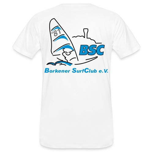 BSC Männer Bio-T-Shirt (Weiss) - Männer Bio-T-Shirt