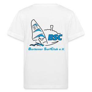BSC Kinder Bio-T-Shirt (Weiss) - Kinder Bio-T-Shirt