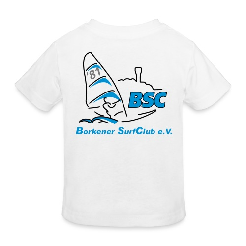 BSC Kinder Bio-T-Shirt (Weiss) - Kinder Bio-T-Shirt