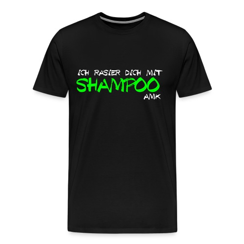Gillette Abdi - Ich rasier dich mit Shampoo - Männer Premium T-Shirt