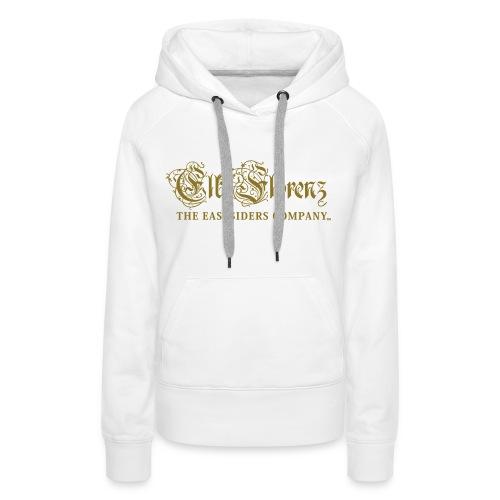 EASTSIDERS HOODIE #GOLD - Frauen Premium Hoodie