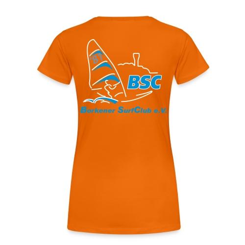 BSC Frauen T-Shirt (Farbig) - Frauen Premium T-Shirt