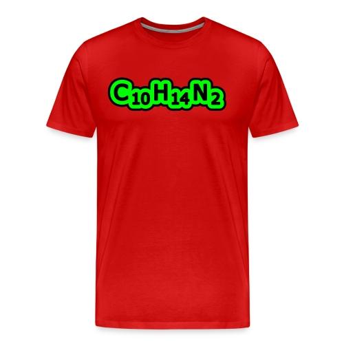 Nicotine - T-shirt Premium Homme