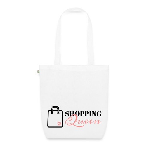Shopping Queen Icon - EarthPositive Tote Bag