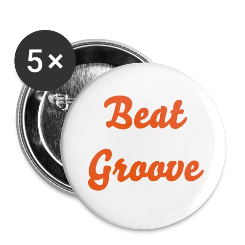 Beatgroove - Button (farbig, 25 mm) - Buttons klein 25 mm