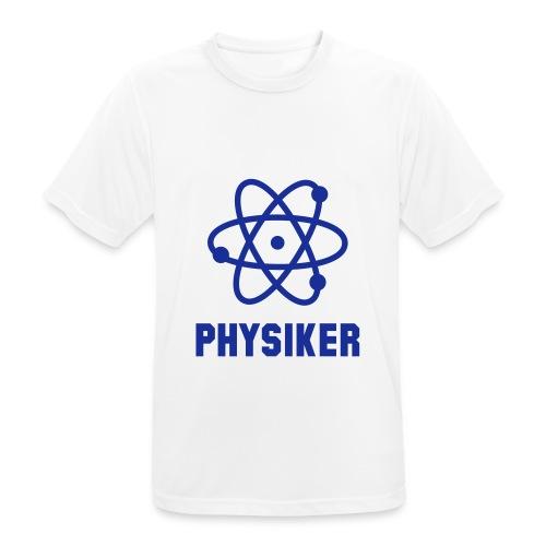 Physiker-Sport-T-Shirt - Männer T-Shirt atmungsaktiv