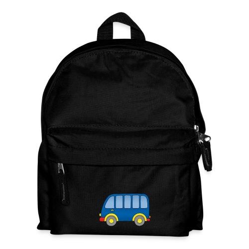 Autobus, ein Rucksack mit einem bunten Autobus - Kinder Rucksack