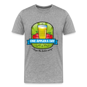 One Äppler a day - Männer Premium T-Shirt