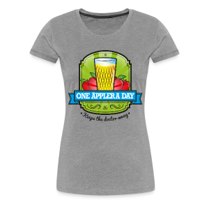 One Äppler a day Gilry - Frauen Premium T-Shirt
