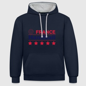 France Handball Sweat-shirts - Sweat-shirt contraste