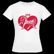 T-Shirts ~ Frauen T-Shirt ~ T-Shirt - Ich liebe Pferde