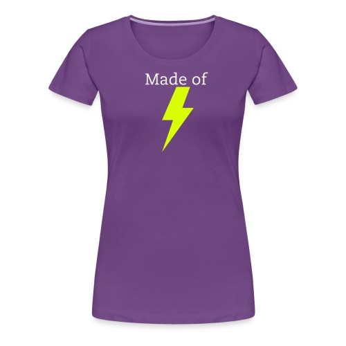 Made of Lightning Womens Shirt - Women's Premium T-Shirt