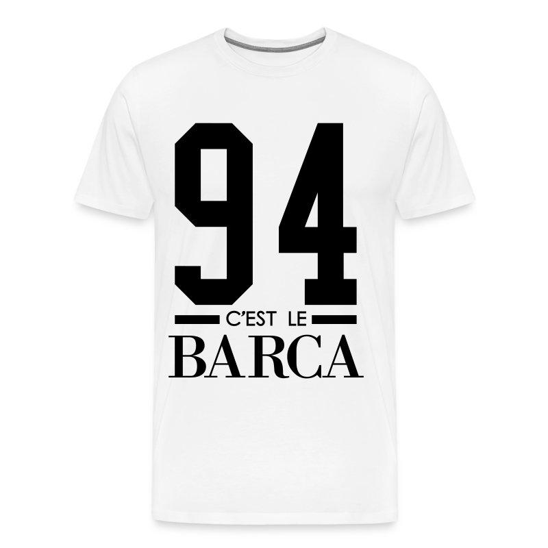 Tee Shirt Tee-shirt 94 C'est Le Barca, Parole De Kery