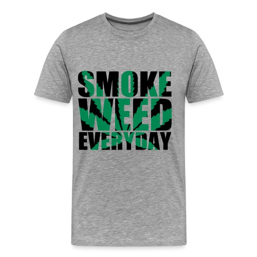 Smoke everyday - T-shirt Premium Homme