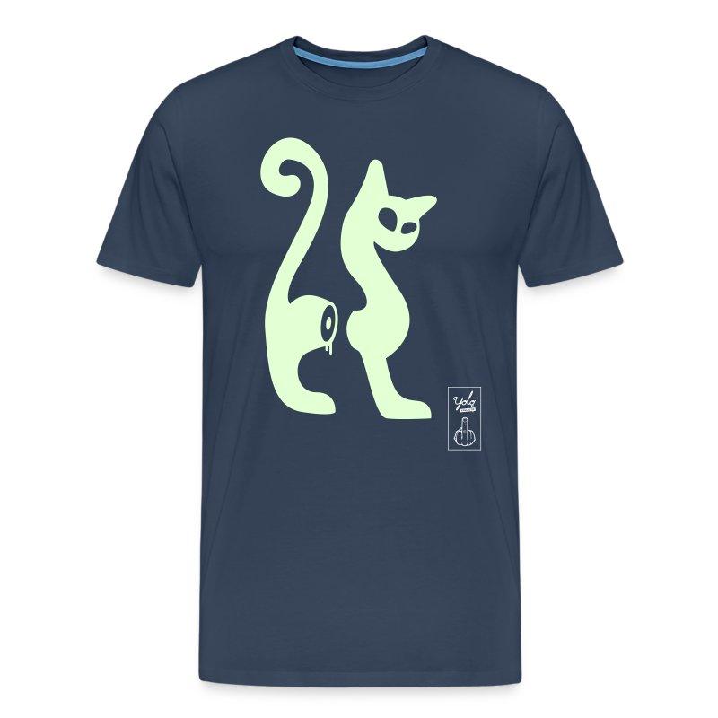 cutcat phospho - T-shirt Premium Homme
