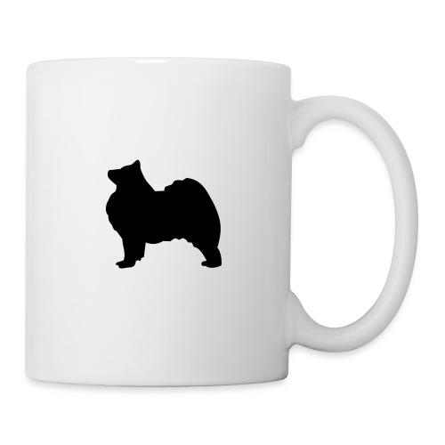 Samoyed black Mug - Mug