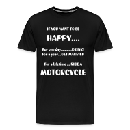 T-Shirts ~ Men's Premium T-Shirt ~ If you want to be HAPPY?
