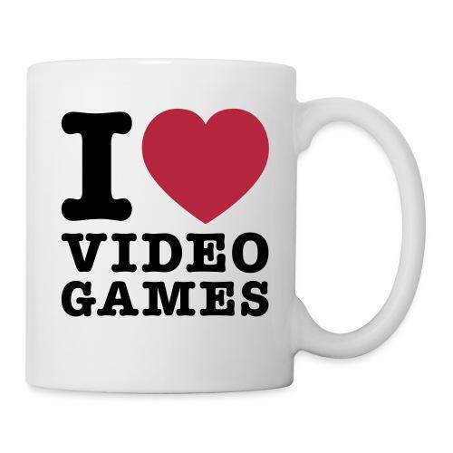 Amo i videogames - Tazza