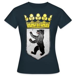 Berlin Wappen mit Krone  - Frauen T-Shirt