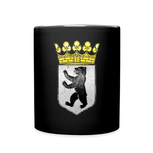 Berlin Wappen mit Krone  - Tasse einfarbig