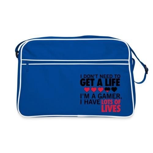 LIFE-BAG | GET A LIFE! - Retro Tasche