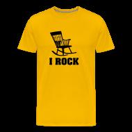 T-shirts ~ Mannen Premium T-shirt ~ Rocker T-shirt: I ROCK