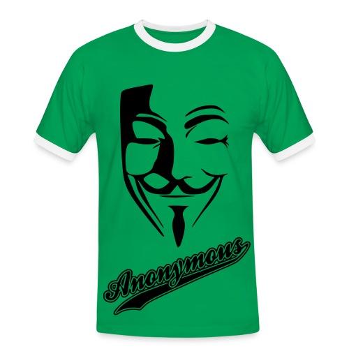 Tee-Shirt Anonymous - T-shirt contrasté Homme