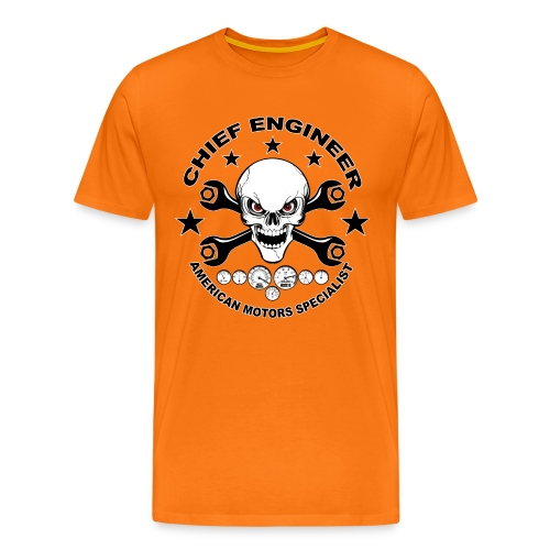 Chief engineer 04 - Men's Premium T-Shirt
