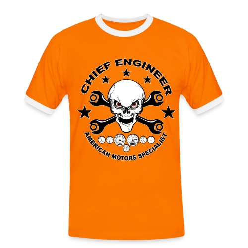 Chief engineer 04 - Men's Ringer Shirt