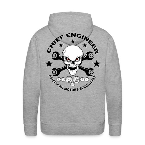 Chief engineer 04 - Men's Premium Hoodie
